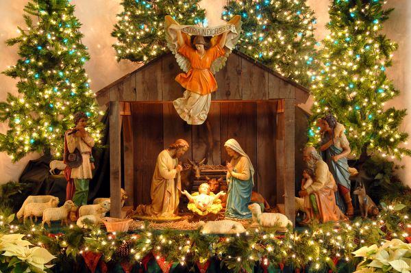 Christmas Crib Decoration Ideas At Home